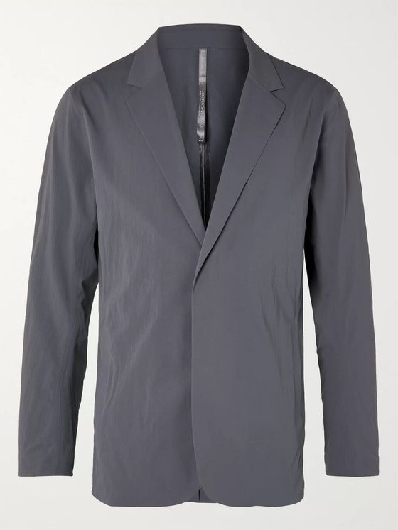 Veilance Slim-Fit Unstructured Shell Blazer
