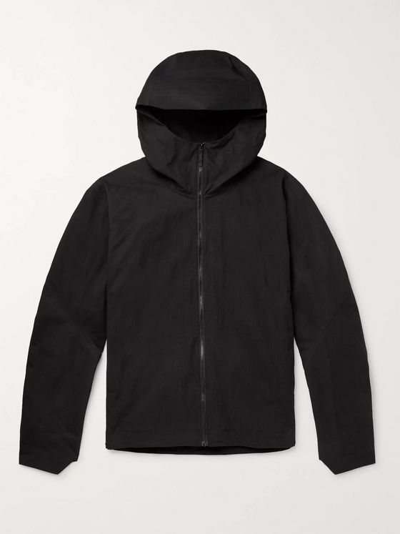 Veilance Isogon Cotton-Blend Poplin Hooded Jacket