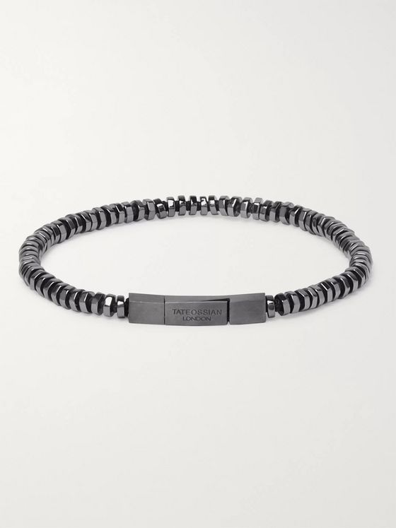 TATEOSSIAN Pure Thread Rhodium-Plated Bracelet