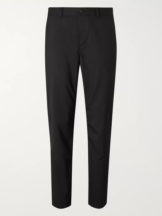 Comme des Garçons HOMME Slim-Fit Tapered Wool-Hopsack Suit Trousers