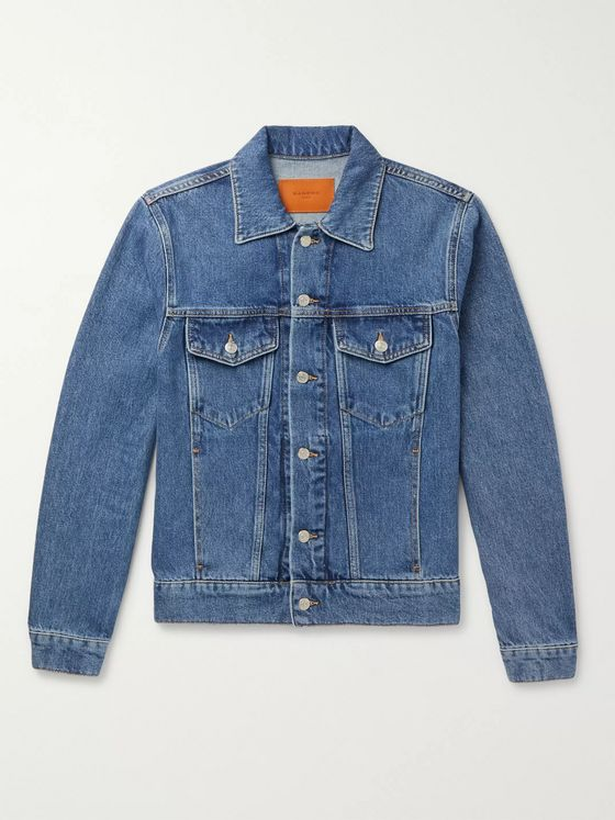 Sandro Slim-Fit Denim Jacket