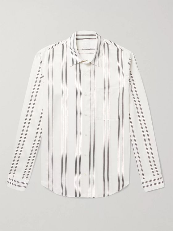 Sandro New Flow Striped Voile Shirt