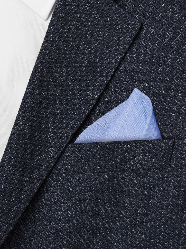 Kingsman + Drake's Linen and Cotton-Blend Pocket Square