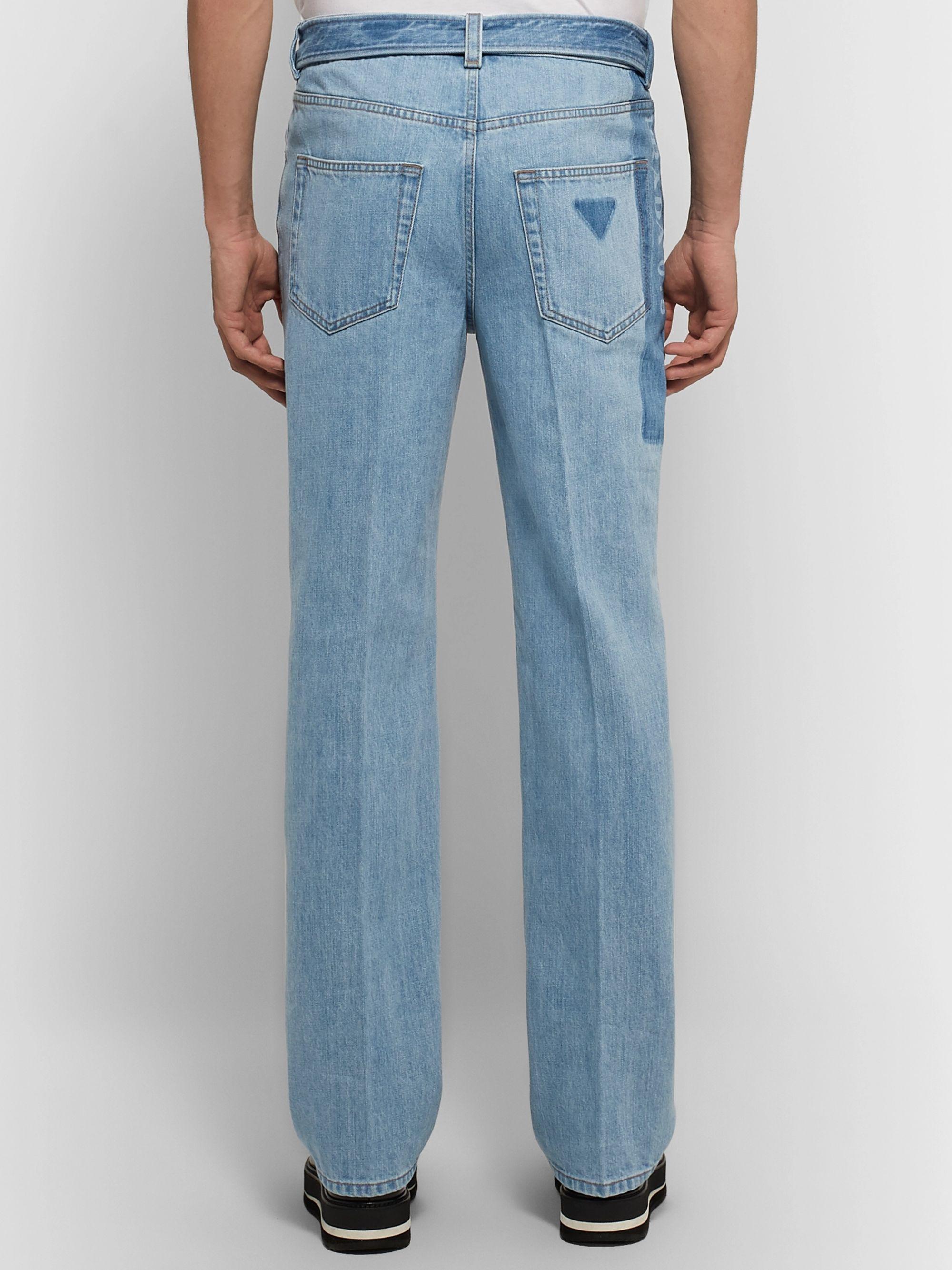 d7f50055 Belted Denim Jeans