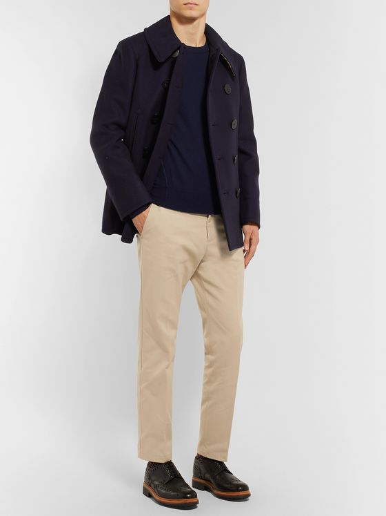 Burberry Cotton-Twill Chinos
