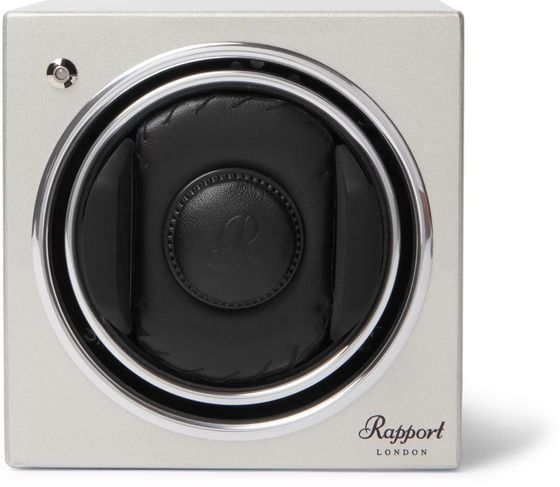 Rapport London Evo Cube #8 Lacquered-Wood Automatic Watch Winder