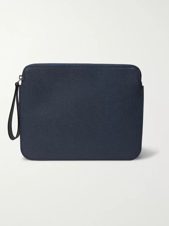 Valextra Textured-Leather iPad Case