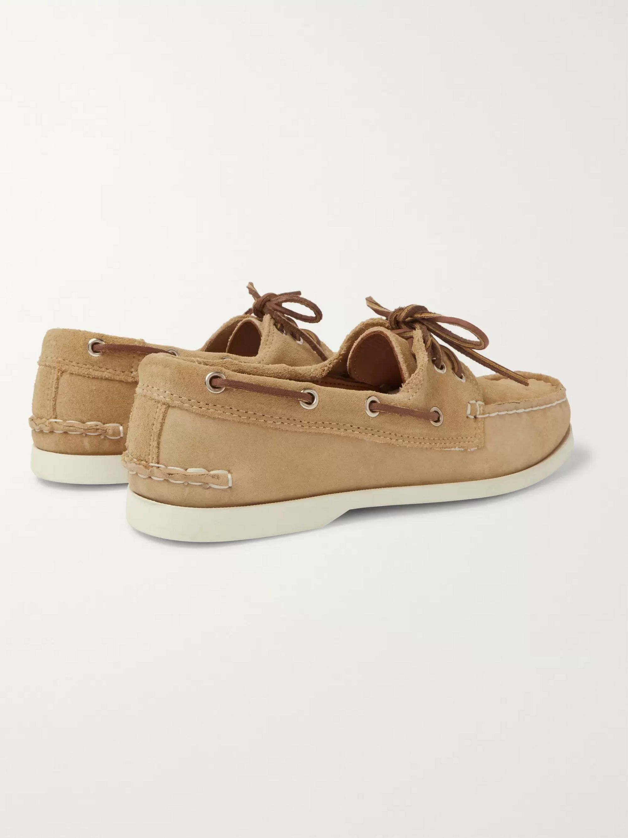 Quoddy Downeast Suede Boat Shoes