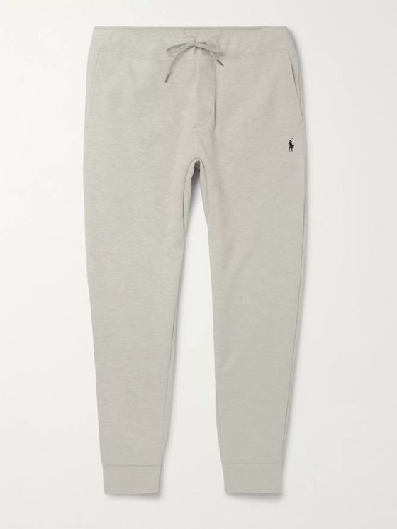 Polo Ralph Lauren Slim-Fit Mélange Tapered Jersey Sweatpants