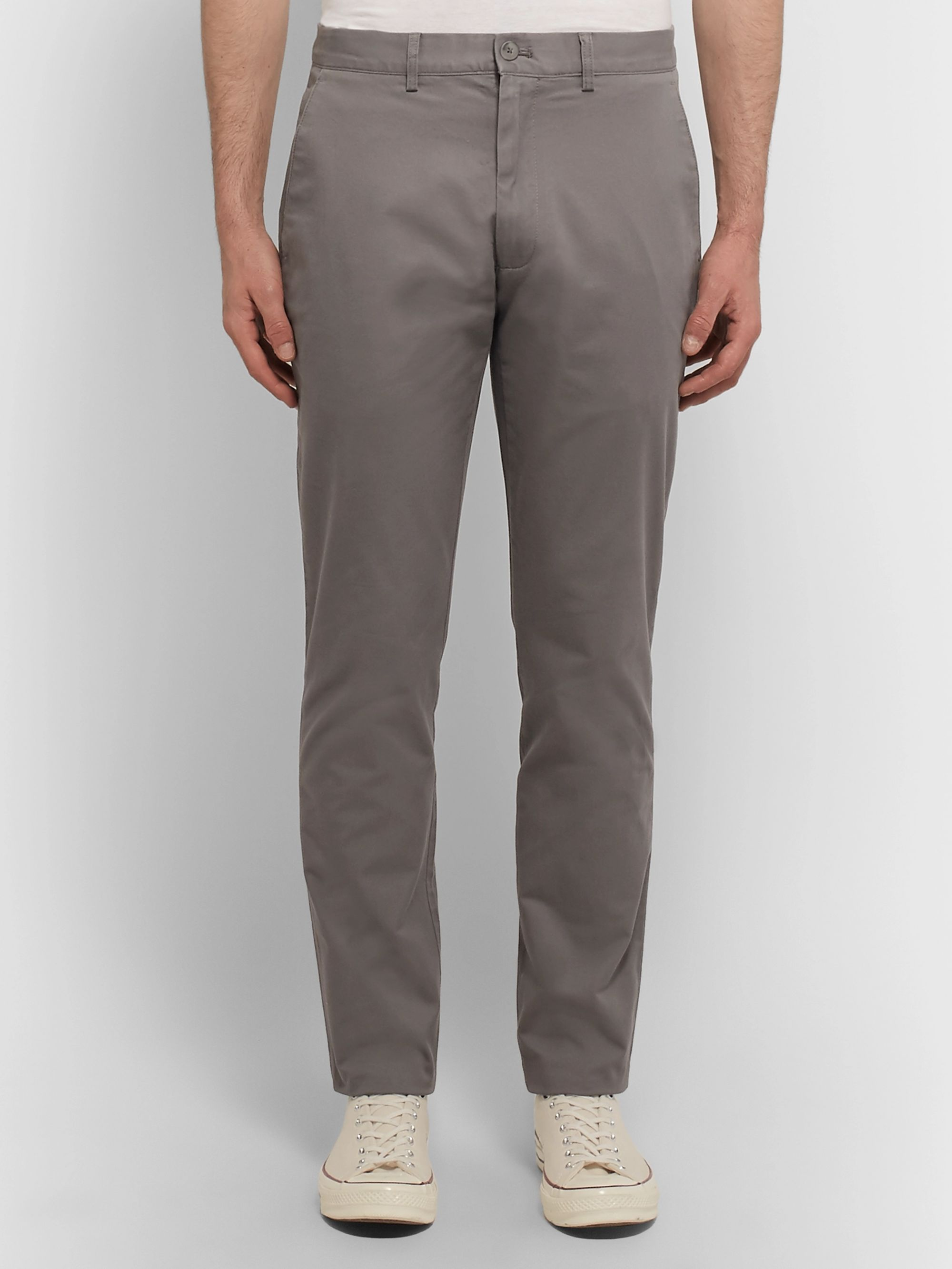 Club Monaco Connor Slim-Fit Cotton-Twill Chinos