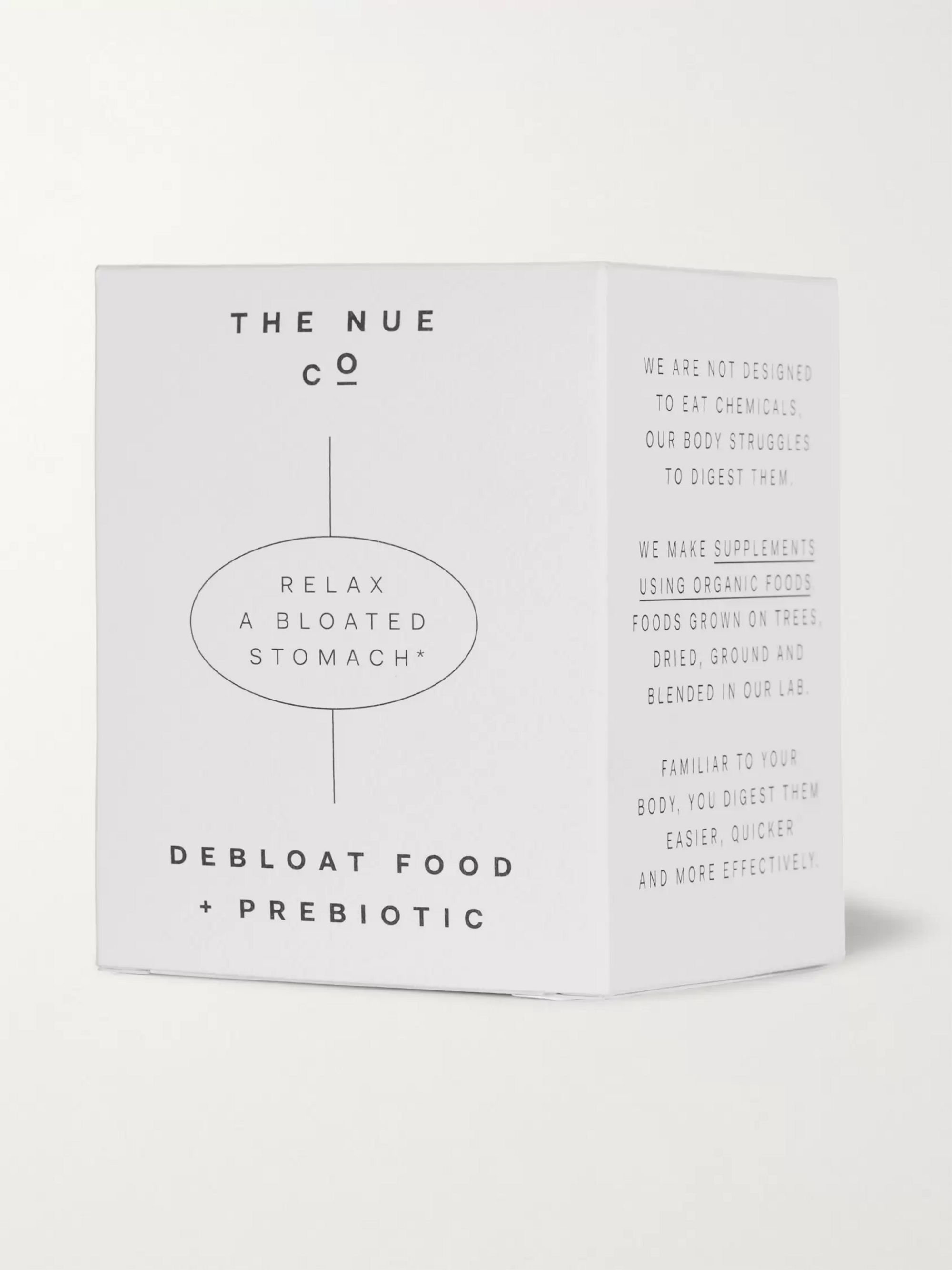 The Nue Co. Debloat Food + Prebiotic Supplement, 100g