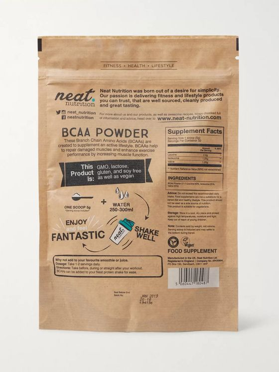 Neat Nutrition Vegan BCAA Powder, 250g