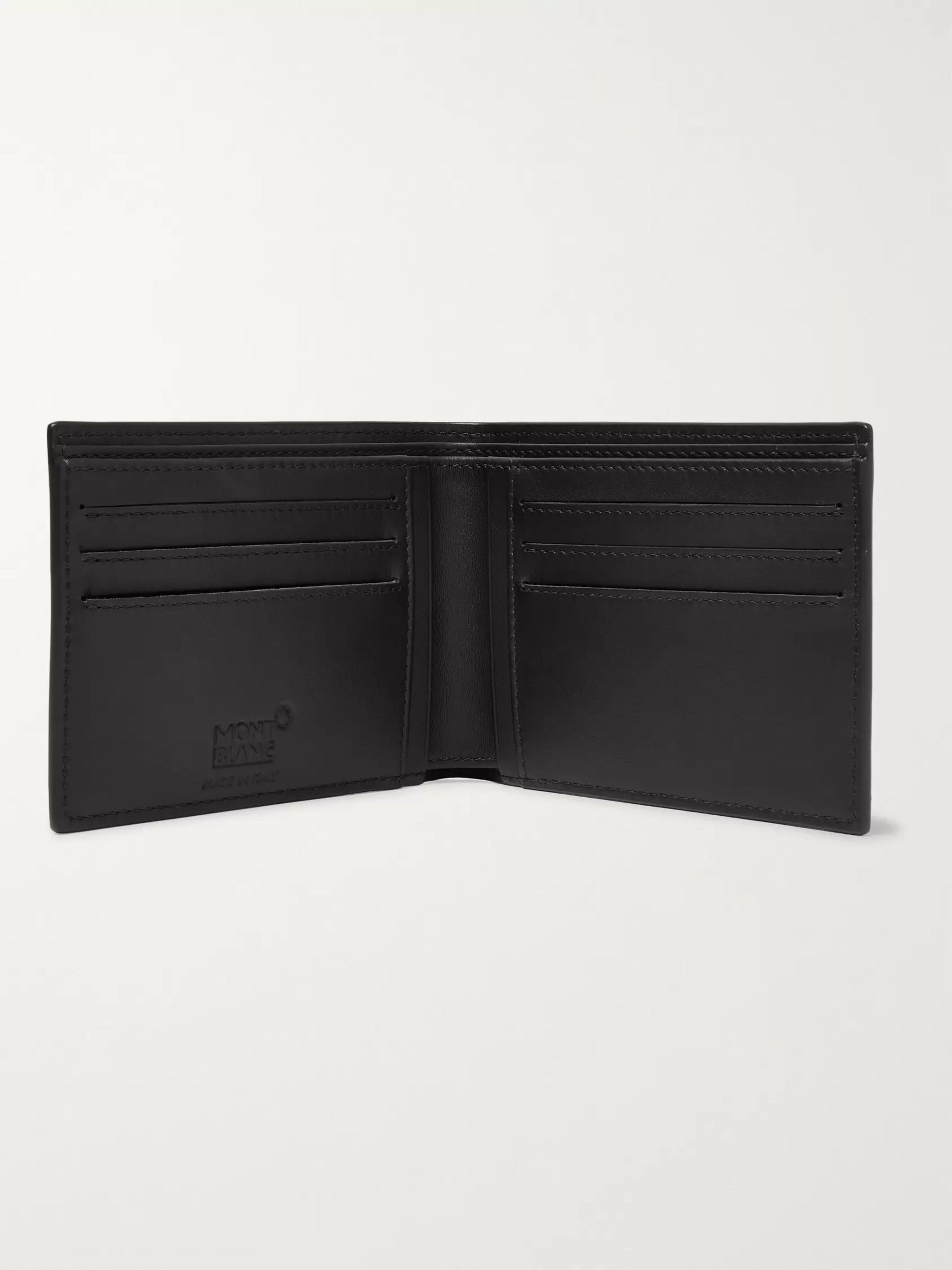 Montblanc Westside Extreme Textured-Leather Billfold Wallet