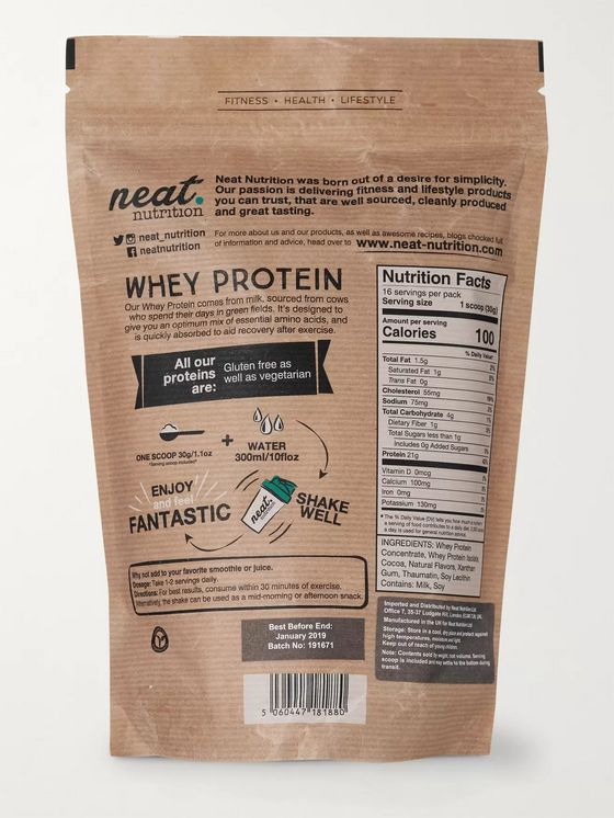 Neat Nutrition Whey Protein Powder - Chocolate Flavour, 500g