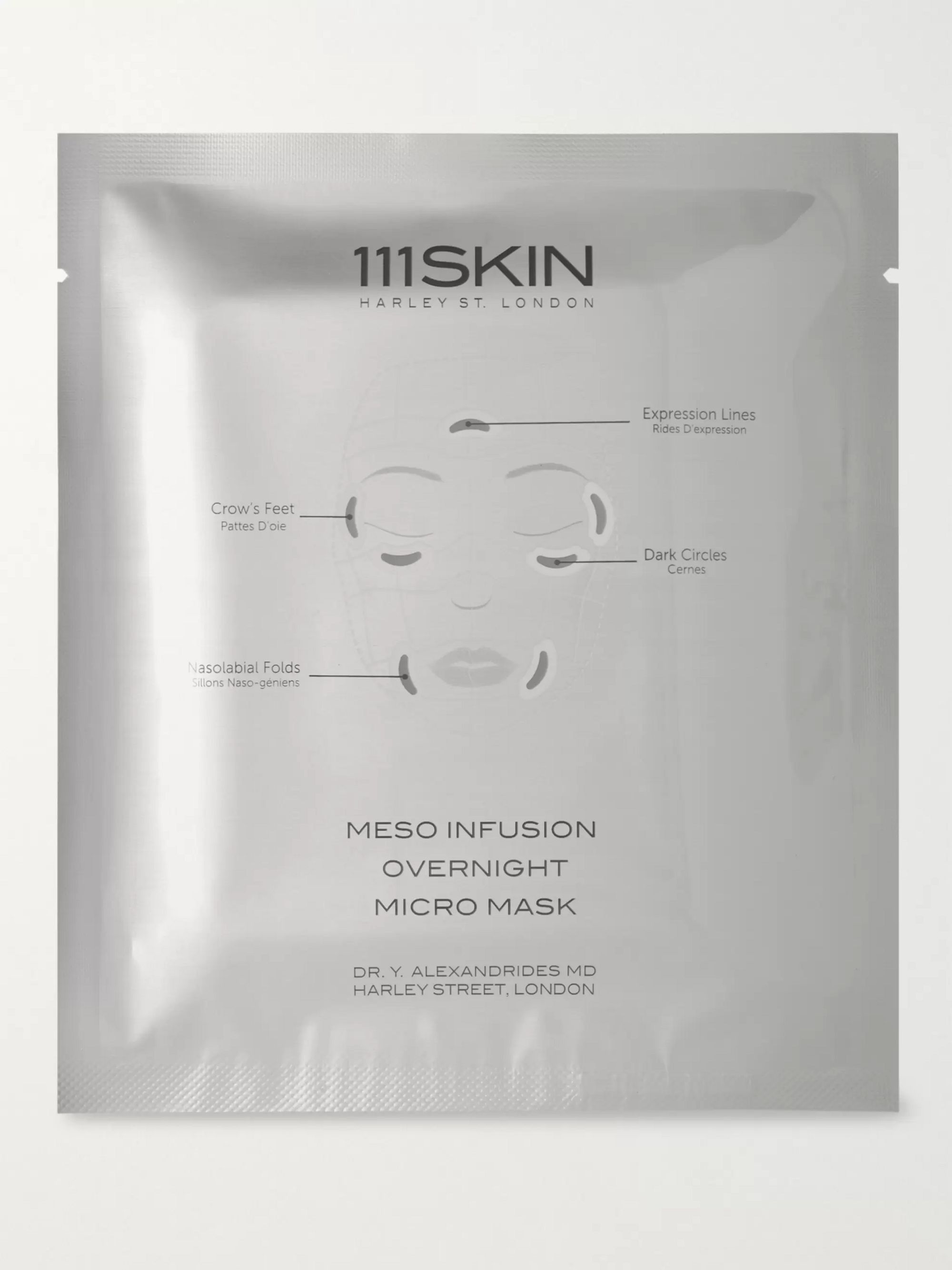 111SKIN Meso Infusion Overnight Micro Mask, 4 X 16g