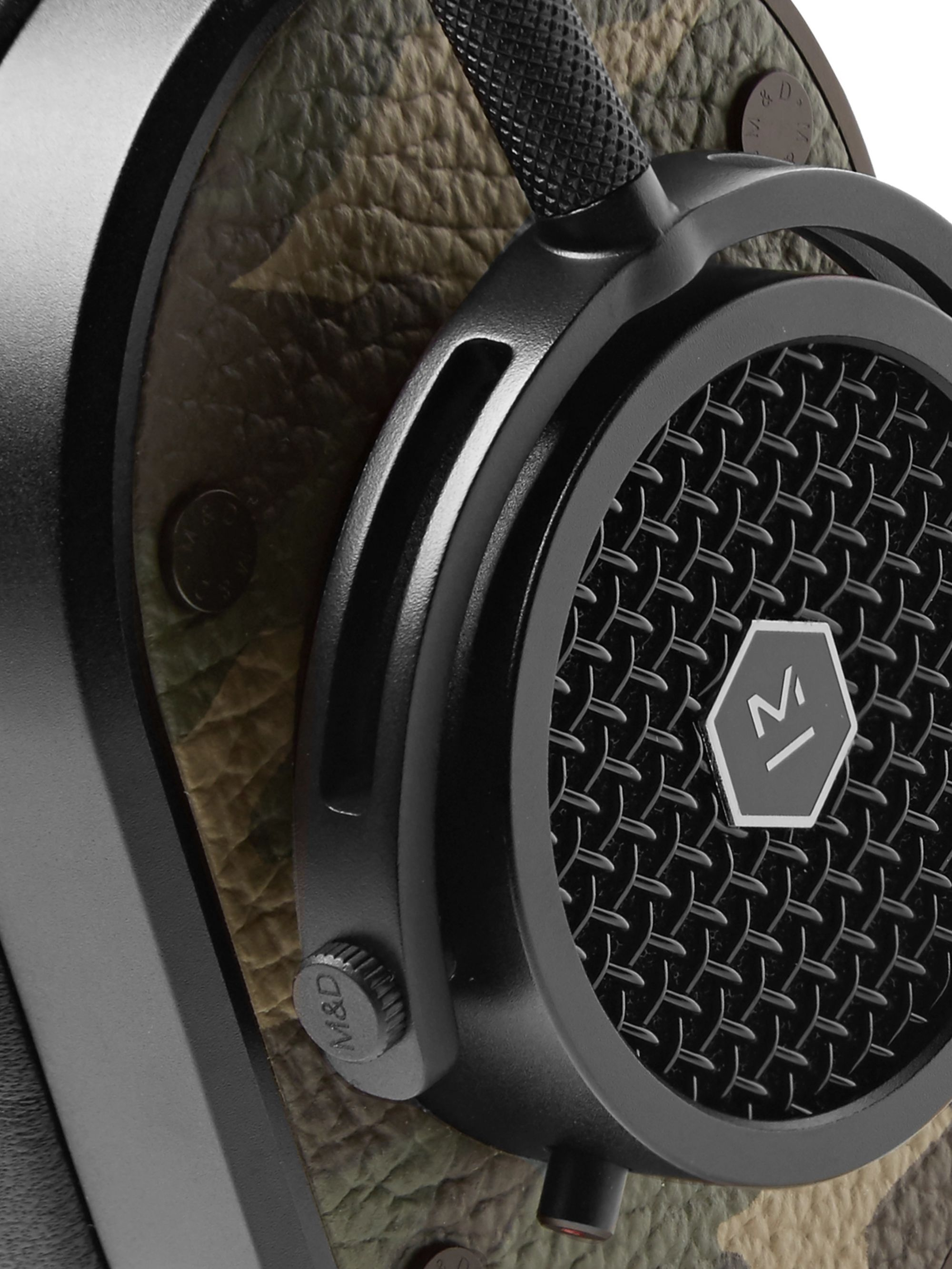 Master & Dynamic MH40 Camouflage-Print Leather Over-Ear Headphones