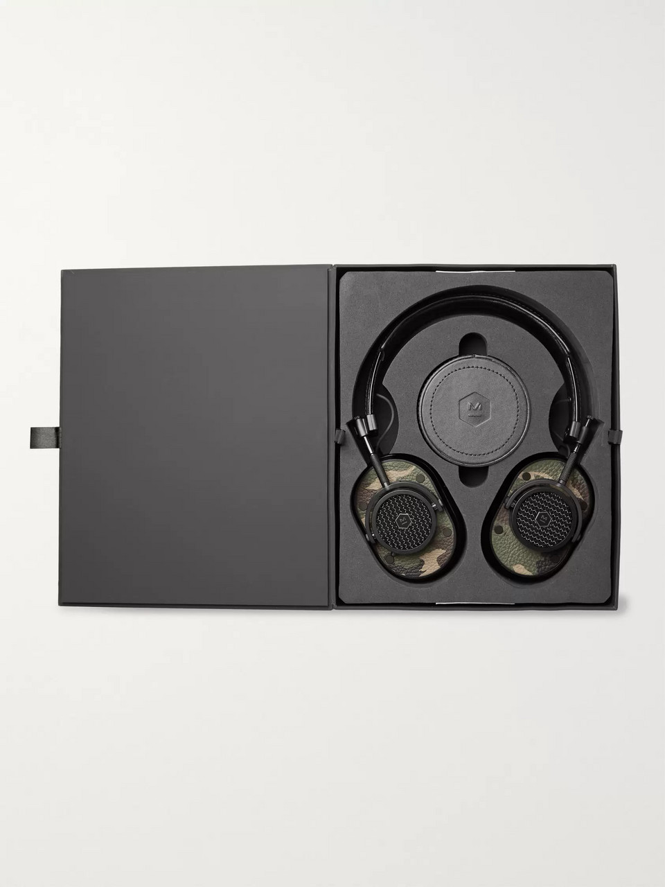 Master & Dynamic MH40 printed textured-leather headphones
