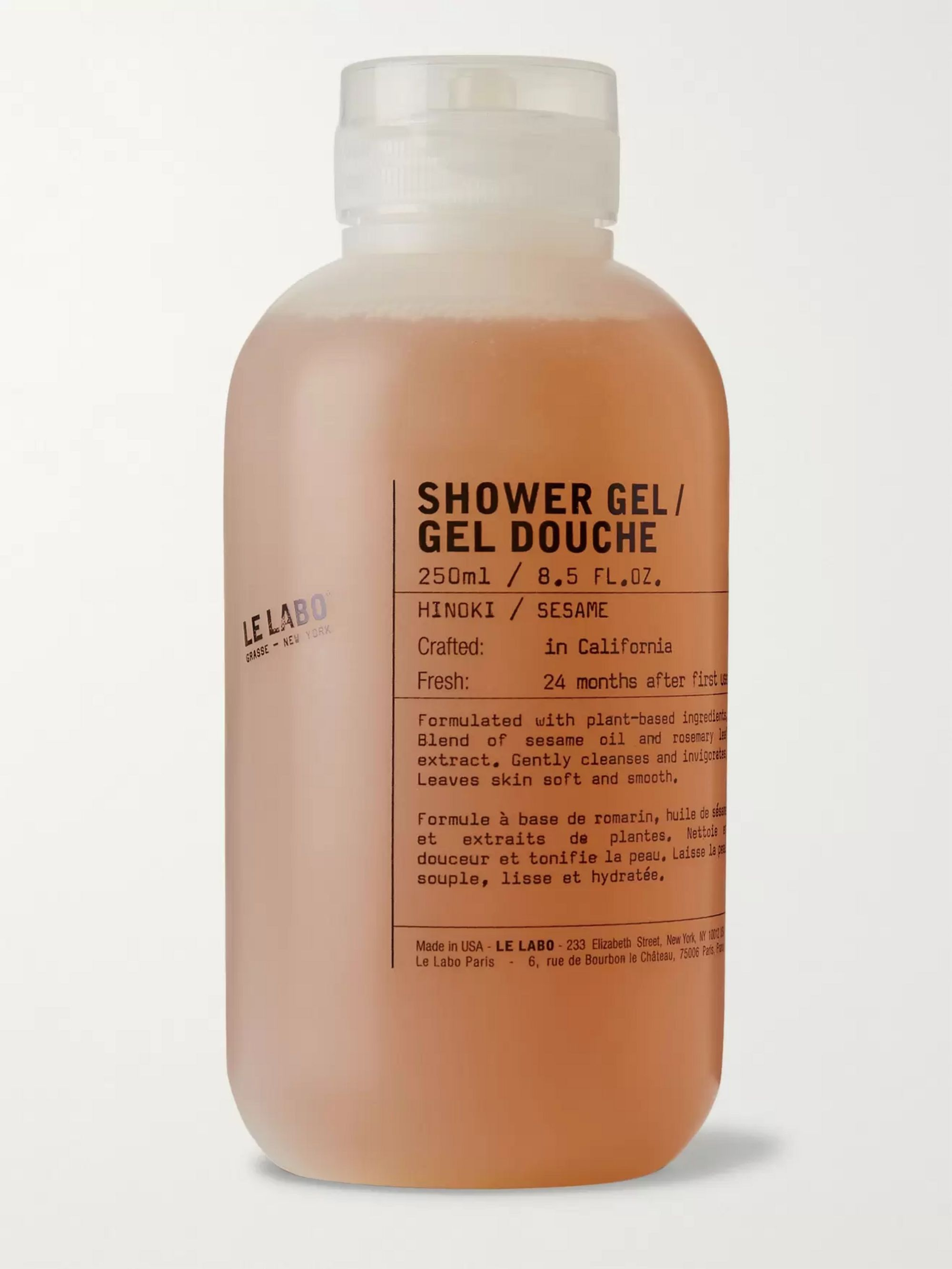 Le Labo Shower Gel - Hinoki, 250ml