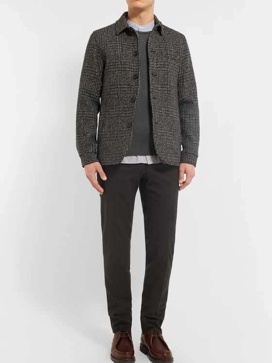 John Smedley Slim-Fit Sea Island Cotton and Cashmere-Blend Sweater