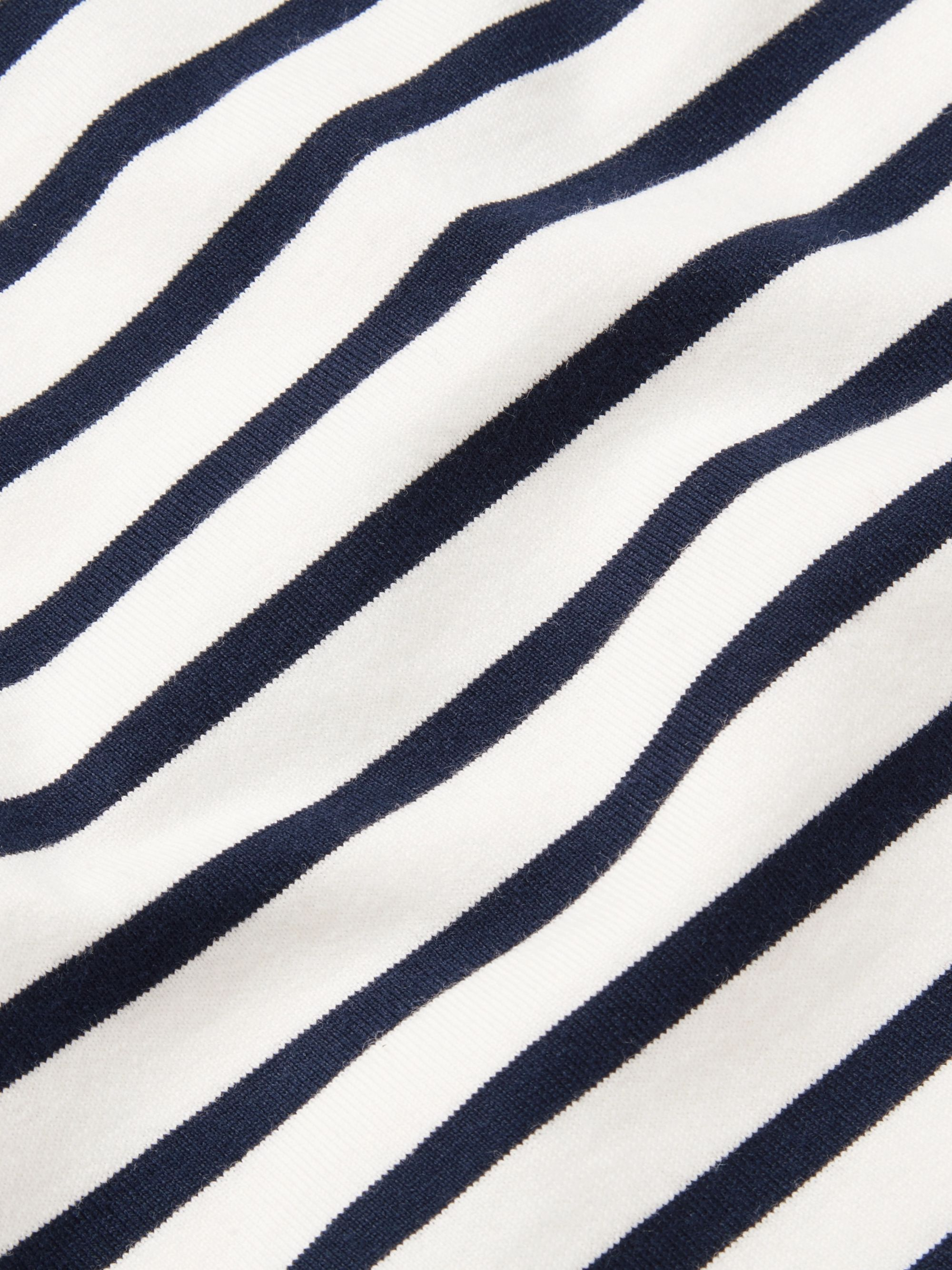 Mr P. Striped Long-Sleeved Cotton-Jersey T-Shirt