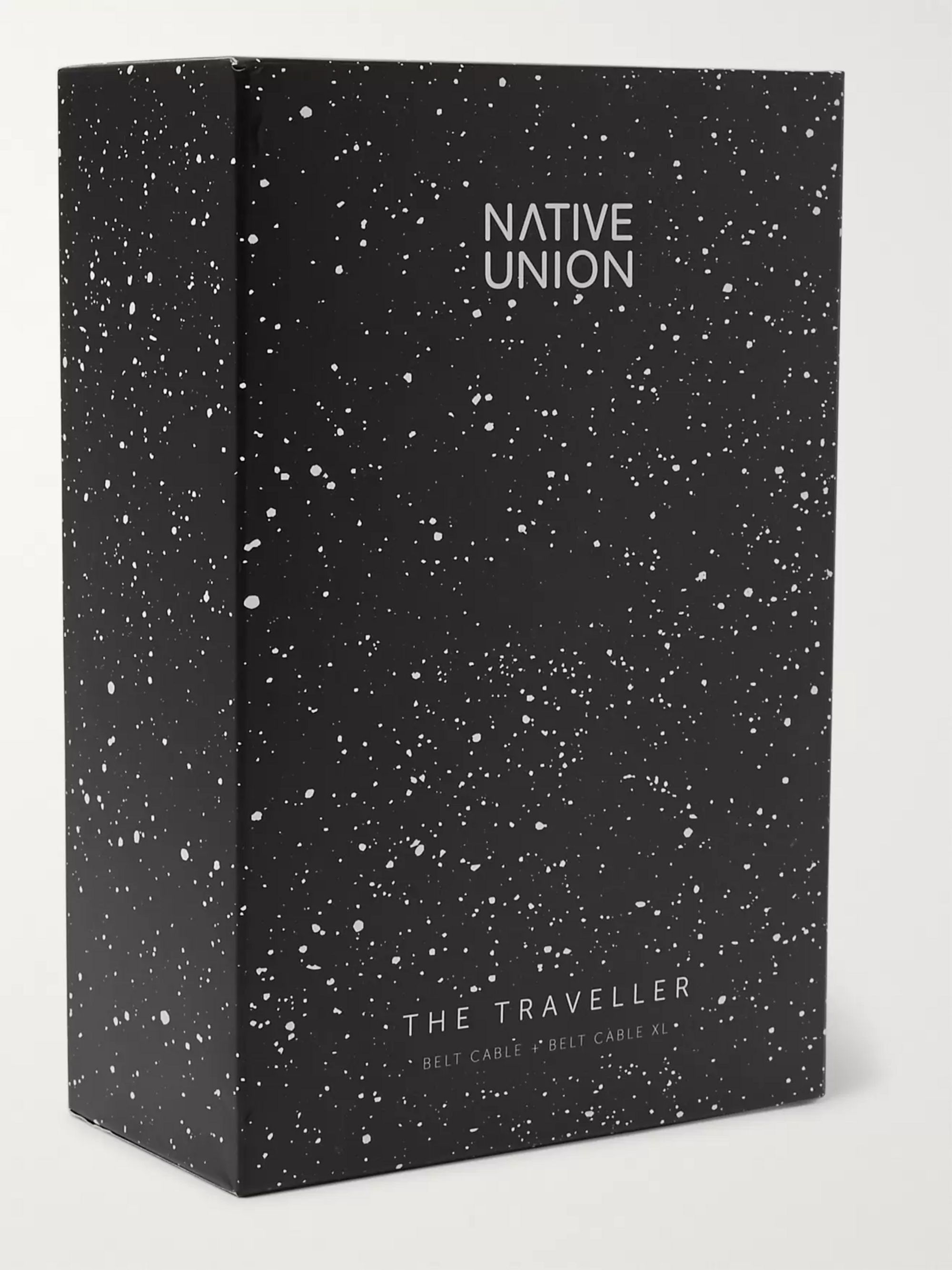 Native Union The Traveller Bundle Lightning Cable Set