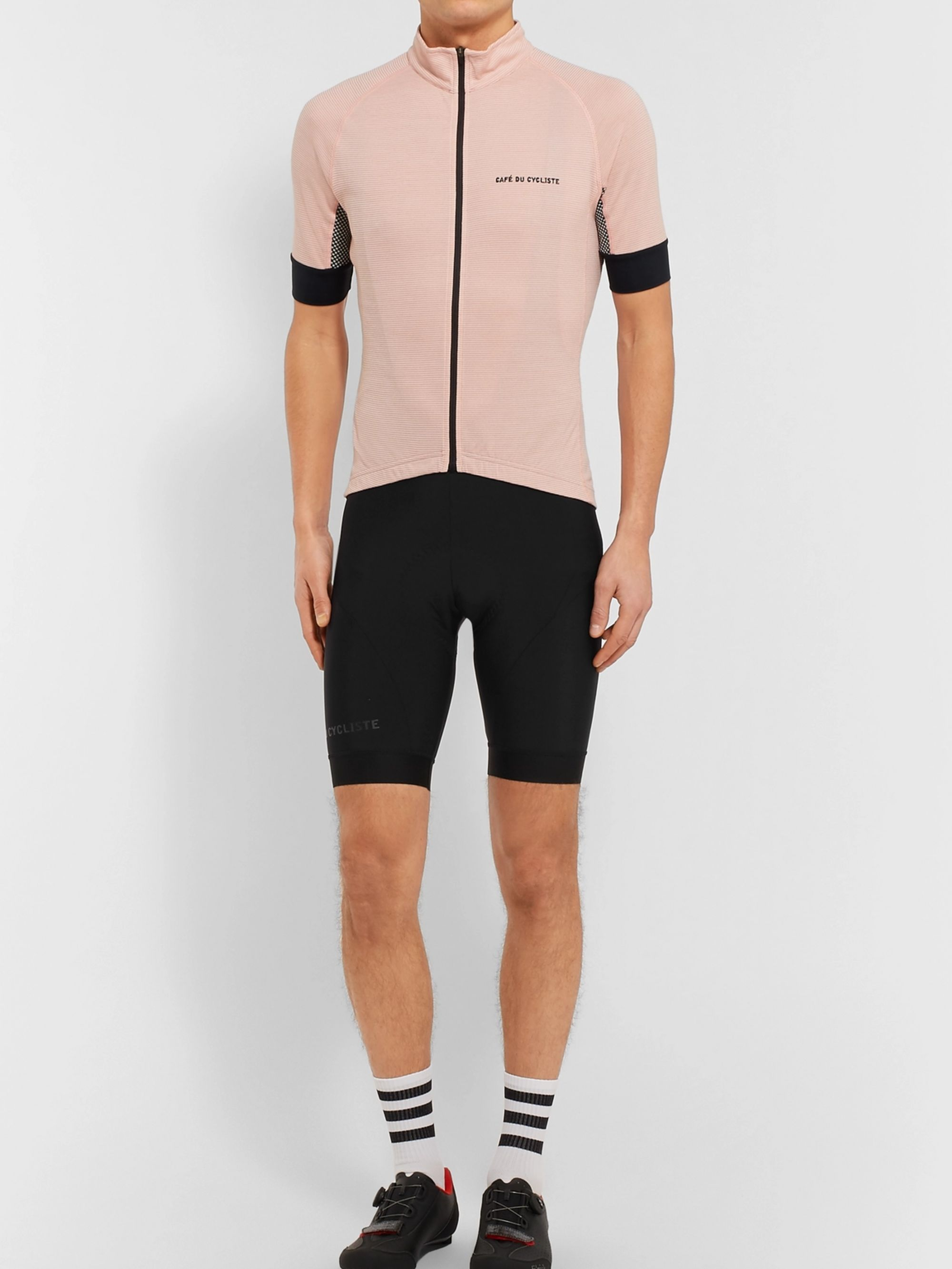 Cafe du Cycliste Joséphine Stretch-Jersey Cycling Bib Shorts