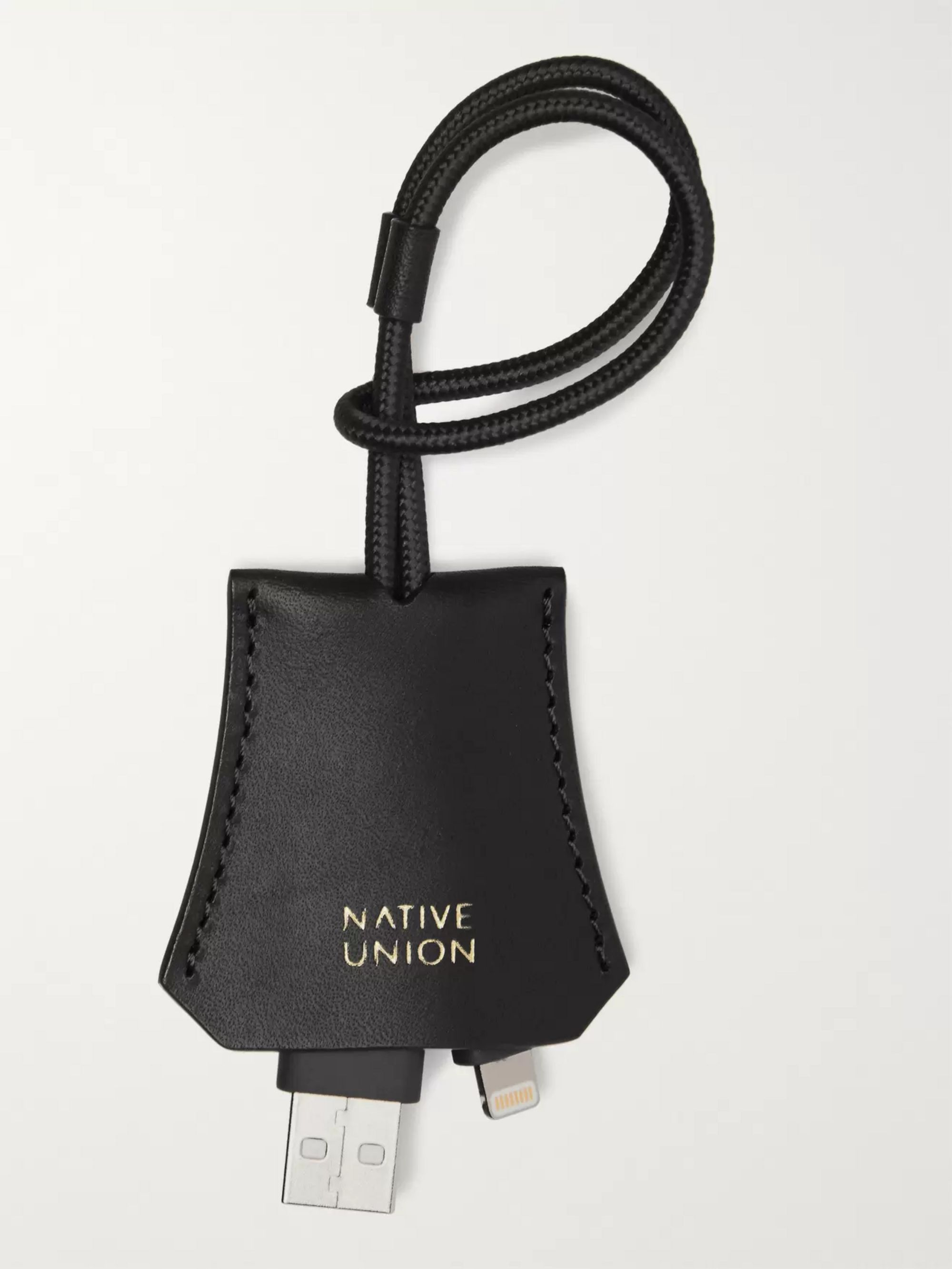 Native Union Tag Leather Lightning Cable