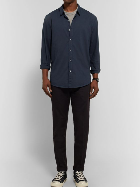 James Perse Cotton-Poplin Shirt