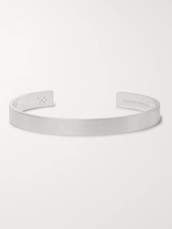 Le Gramme Le 21 Brushed Sterling Silver Cuff