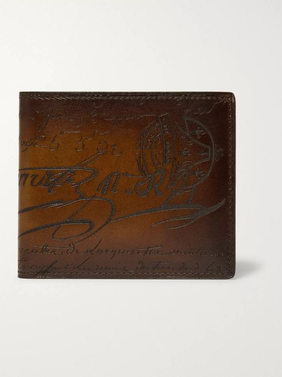 Berluti Makore Leather Billfold Wallet