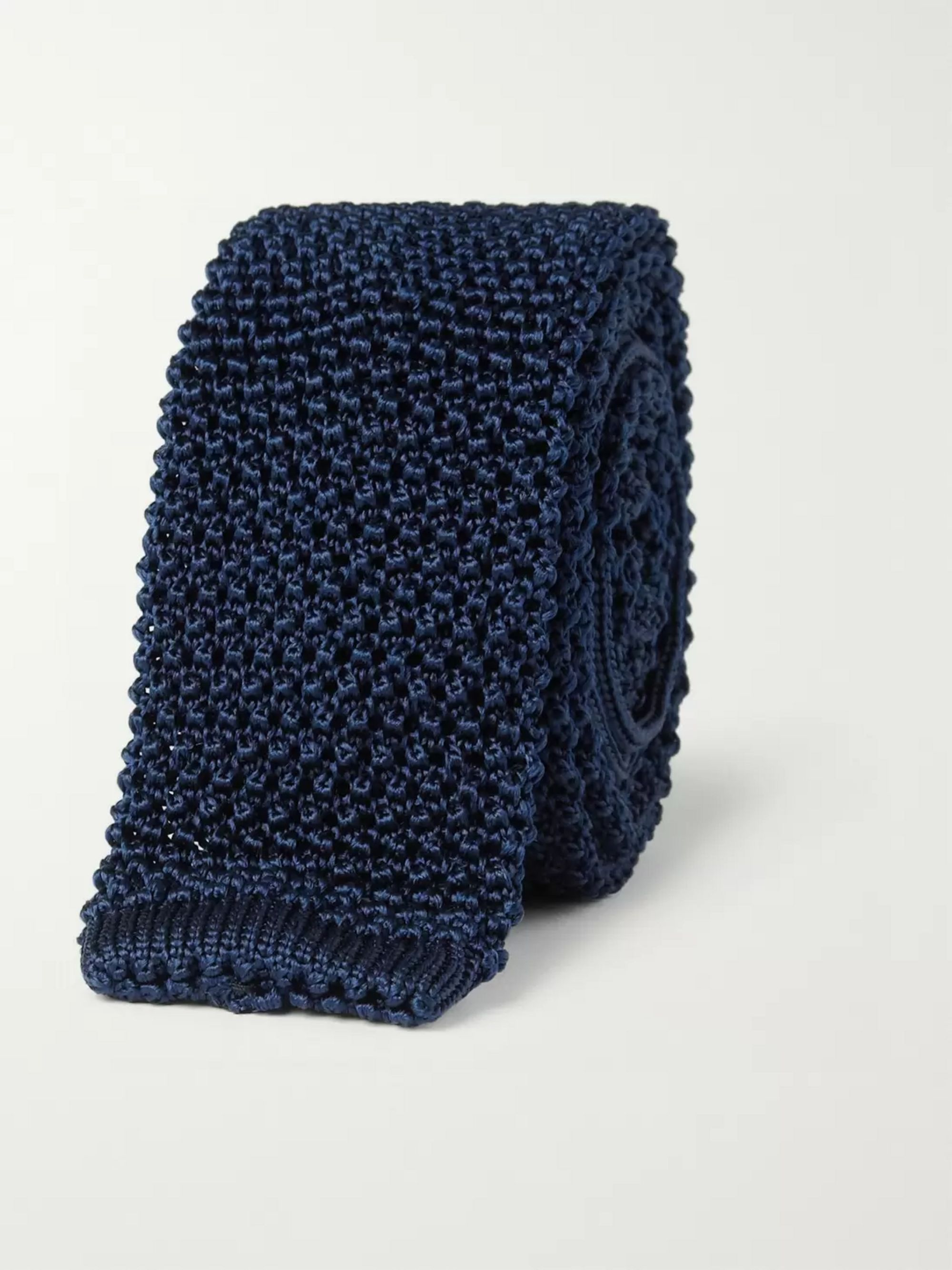 Charvet Slim Knitted Silk Tie