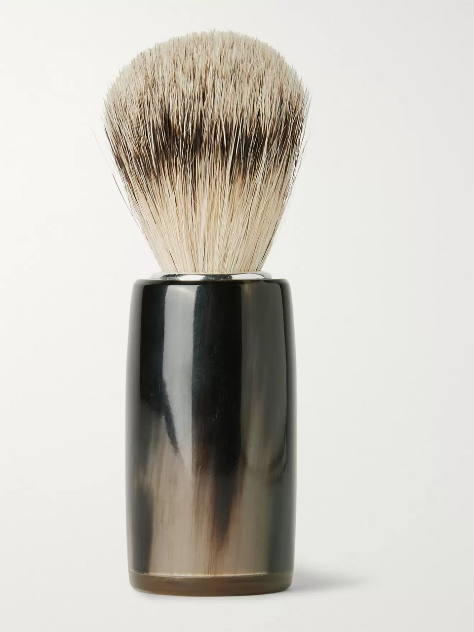 Abbeyhorn Horn and Super Badger Bristle Shaving Brush