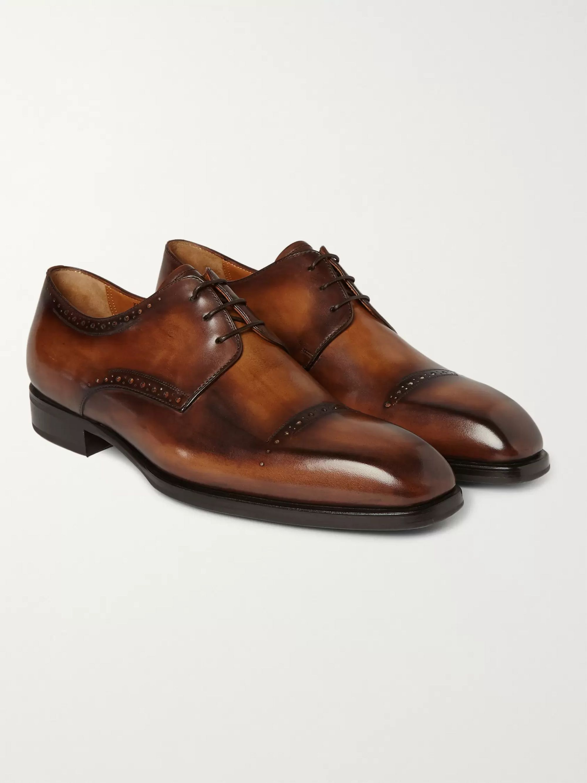 Berluti Leather Derby Shoes