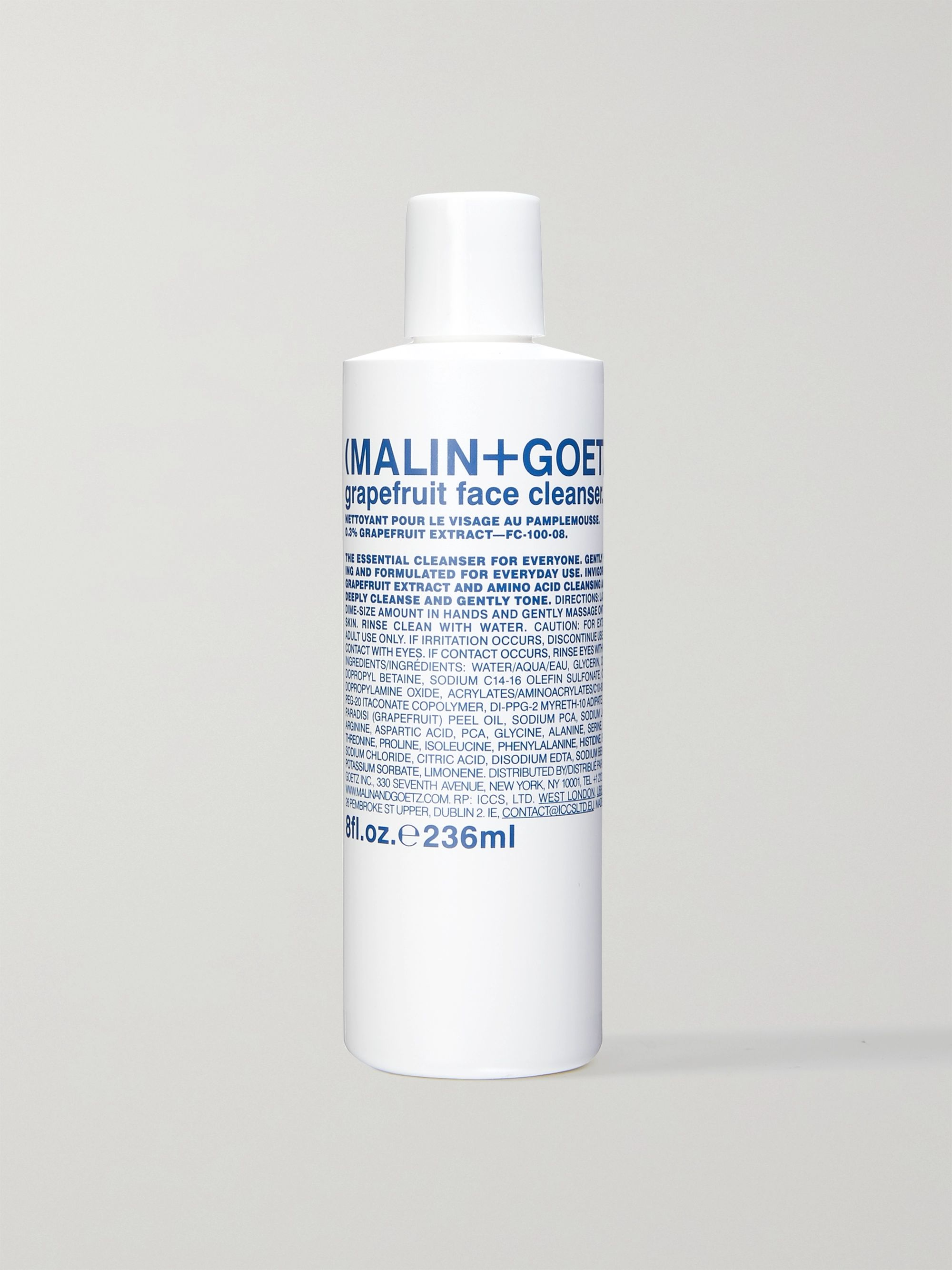 Malin + Goetz Grapefruit Face Cleanser, 236ml