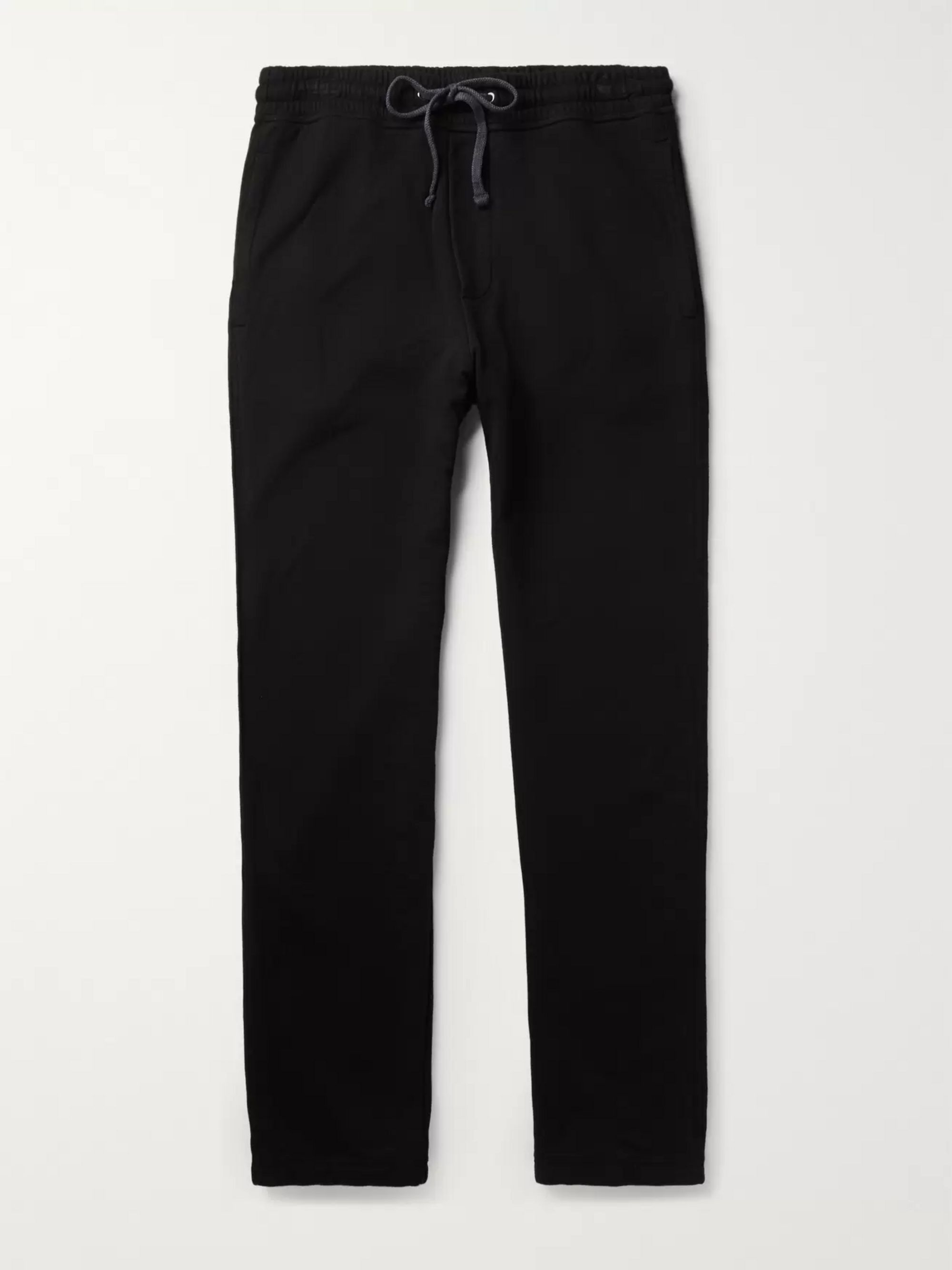 James Perse Loopback Supima Cotton-Jersey Sweatpants