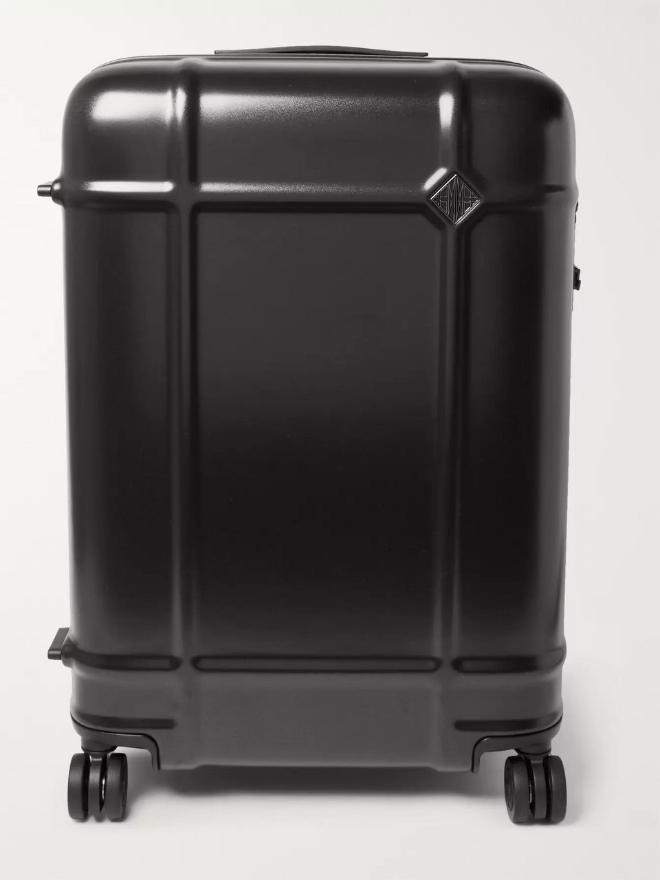 Fabbrica Pelletterie Milano Globe Spinner 68cm Leather-Trimmed Polycarbonate Suitcase