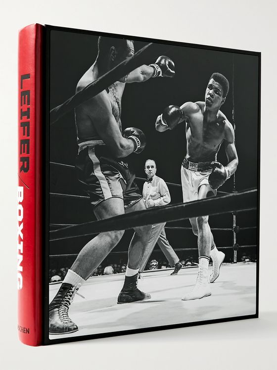 TASCHEN Neil Leifer: Boxing. 60 Years of Fights and Fighters Hardcover Book