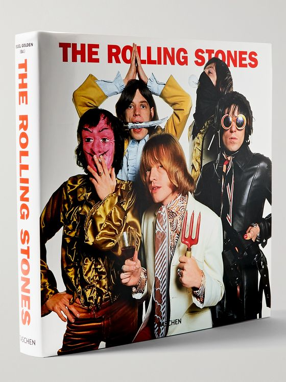 TASCHEN The Rolling Stones: Updated Edition Hardcover Book