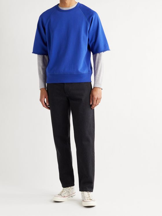 RAG & BONE City Organic Loopback Cotton-Jersey Sweatshirt