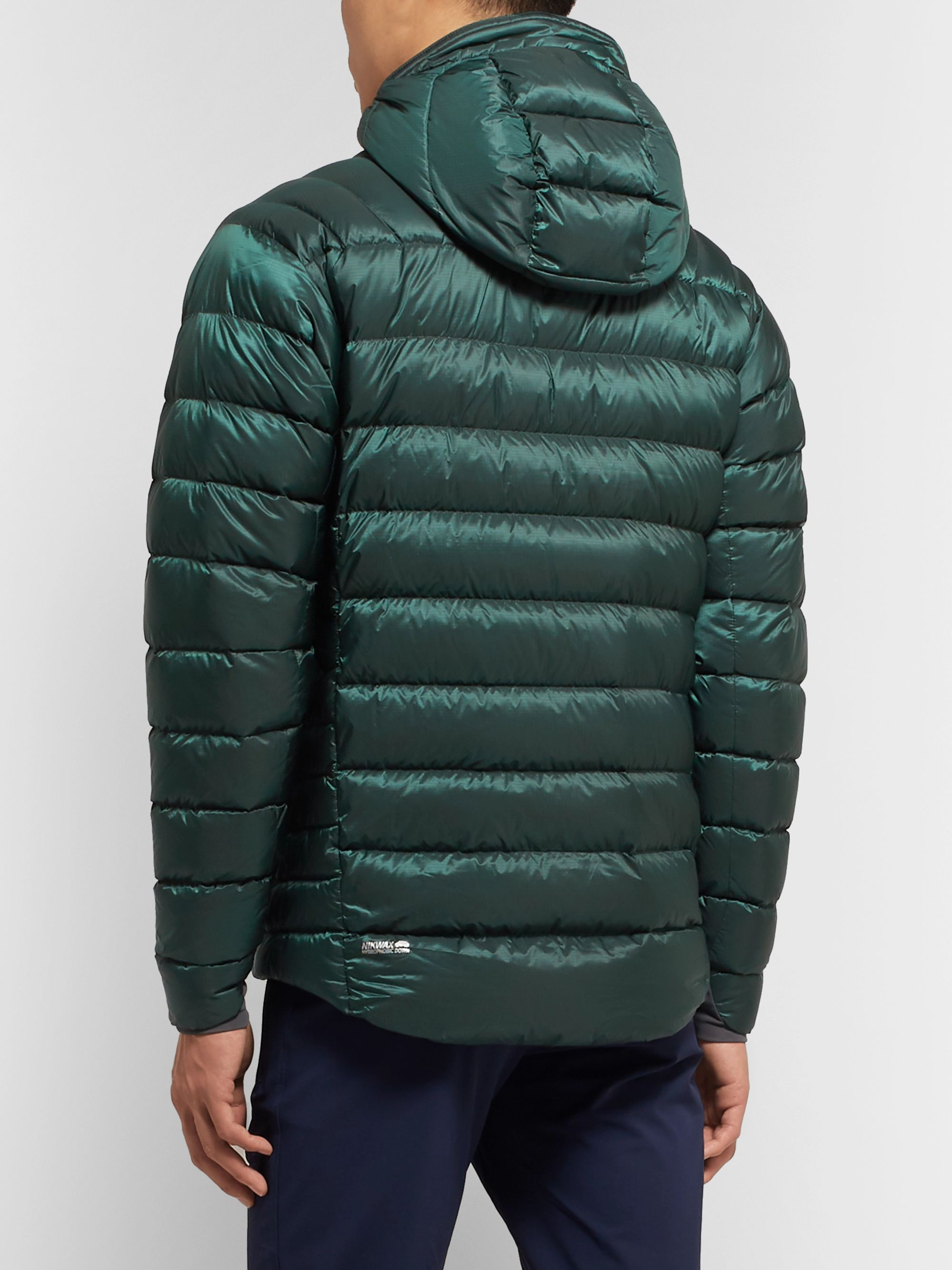 Rab Electron Quilted Pertex Quantum Pro Hooded Down Jacket