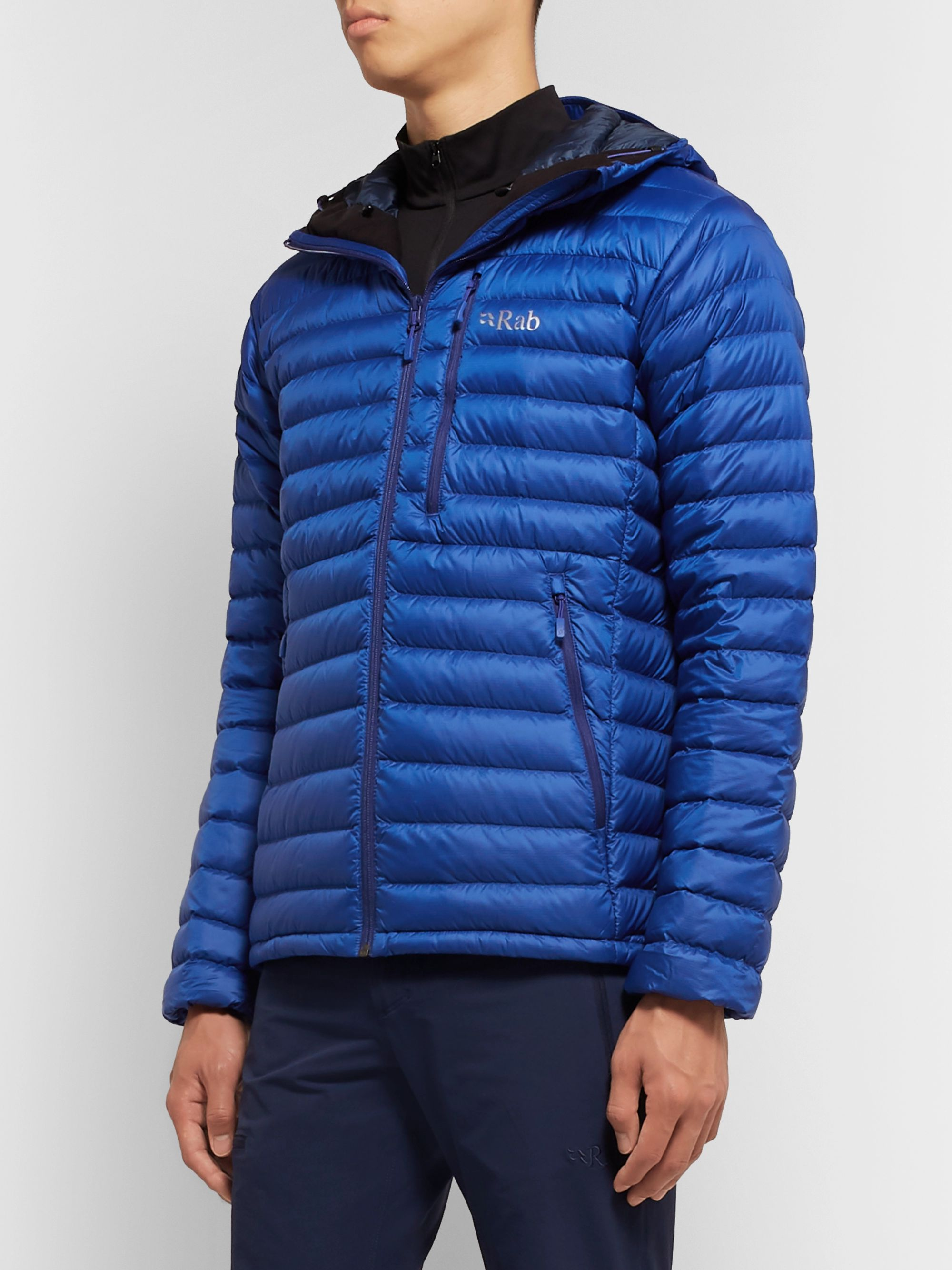 Rab Microlight Alpine Quilted Pertex Quantum Down Jacket