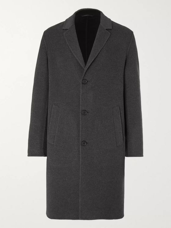 MR P. Double-Faced Splitable Virgin Wool-Blend Coat