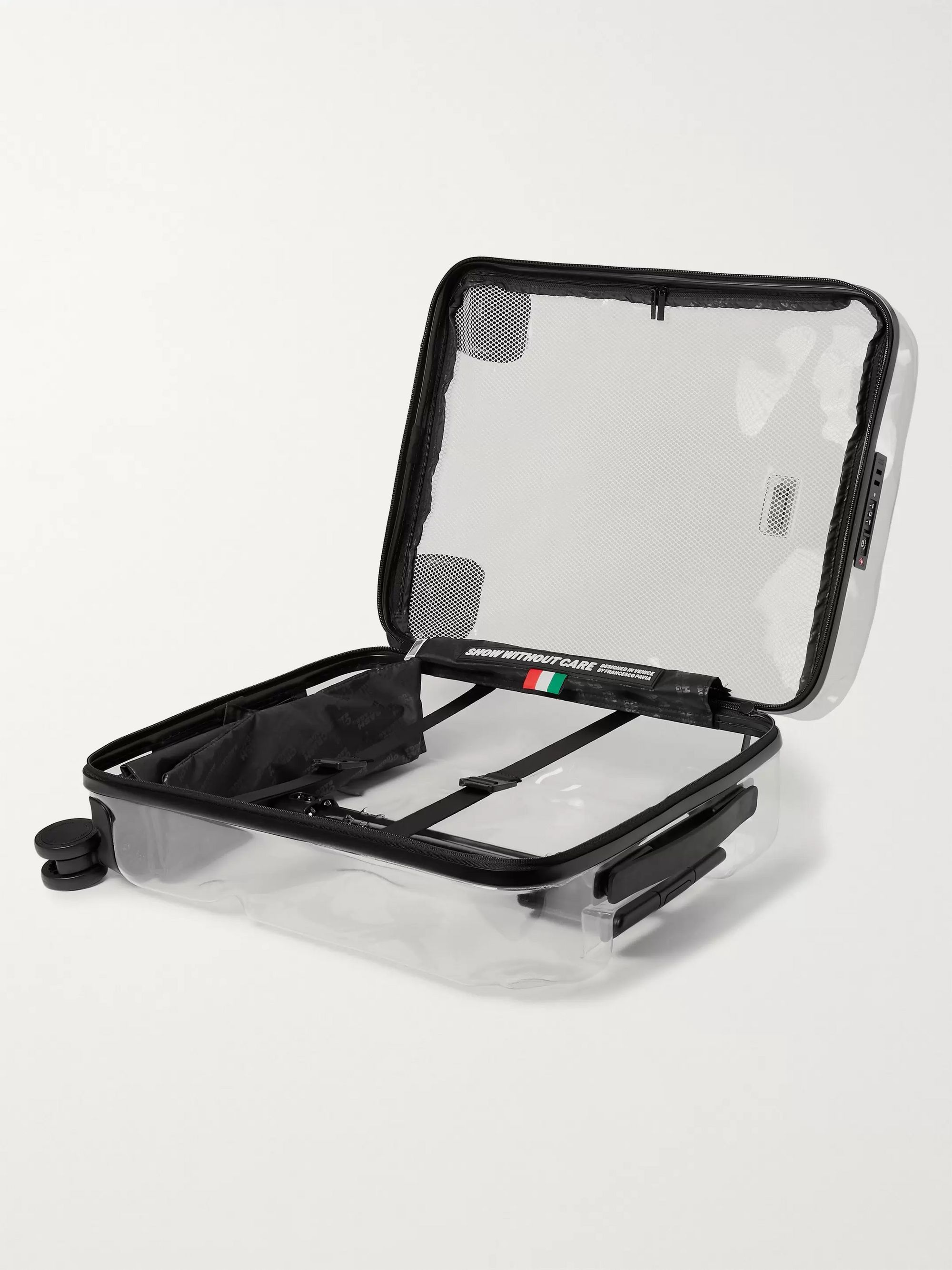 Crash Baggage Share Cabin Transparent Polycarbonate Suitcase