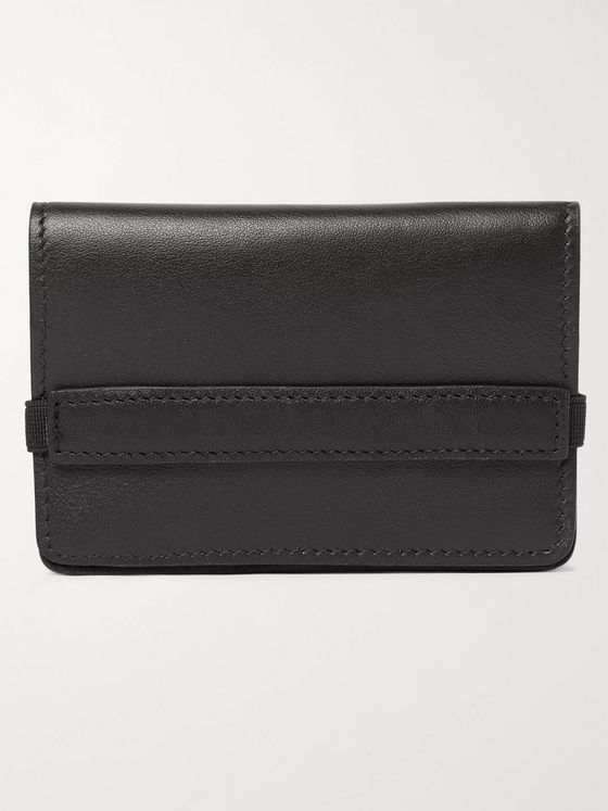 Common Projects Logo-Print Leather Wallet