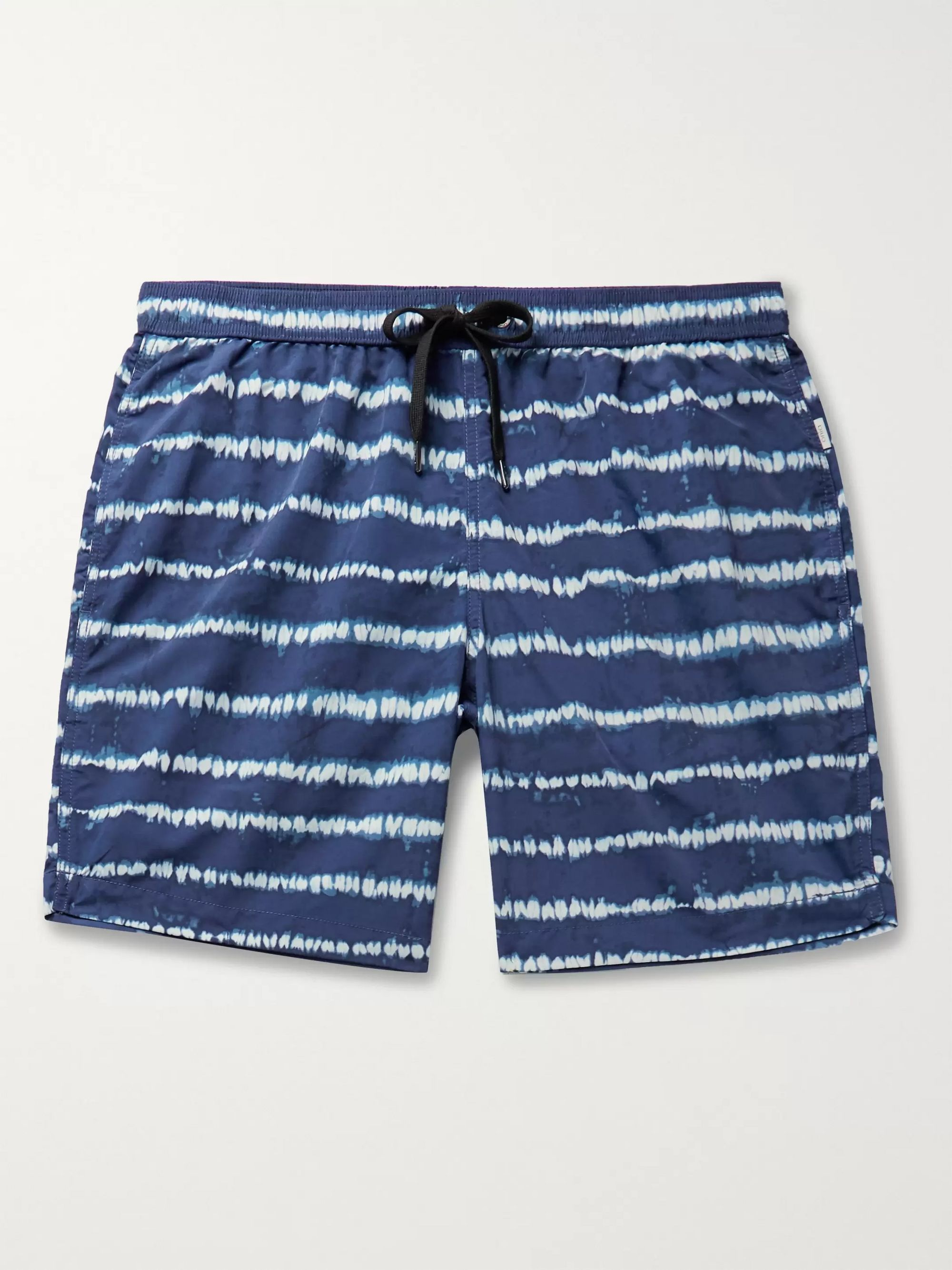 Onia Charles Short-Length Tie-Dye Swim Shorts