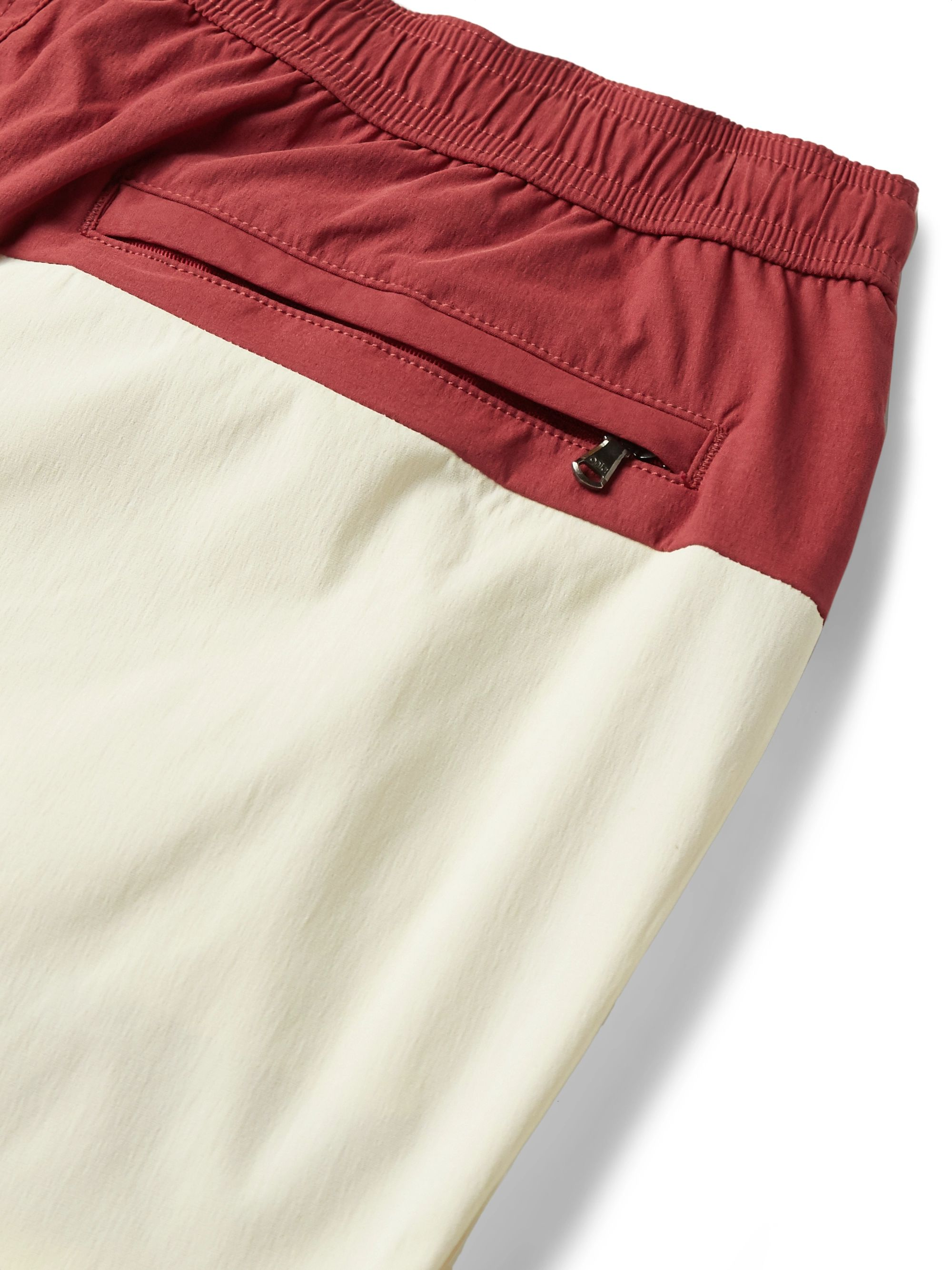 Onia Charles Short-Length Colour-Block Swim Shorts