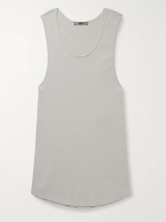 BILLY Colton Slim-Fit Ribbed Cotton Tank Top