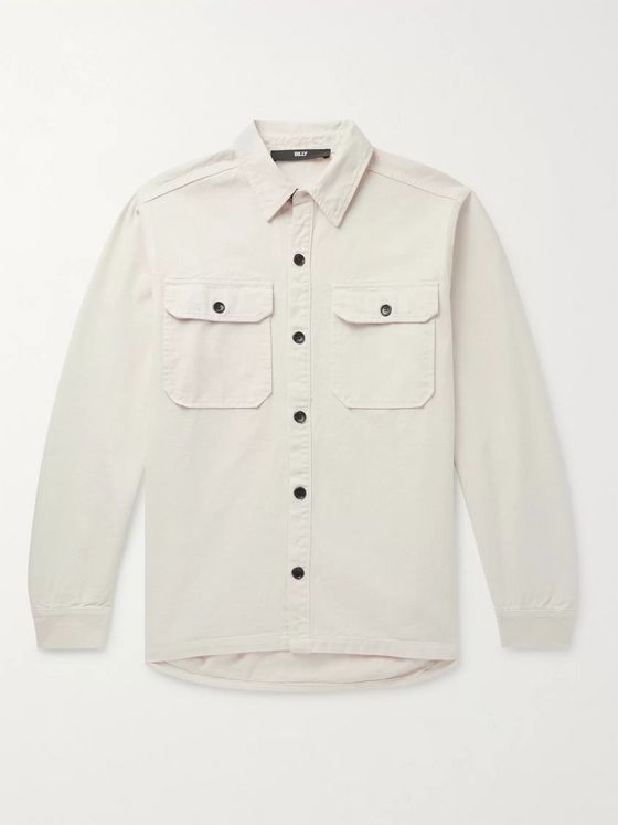 BILLY Cotton-Canvas Shirt Jacket