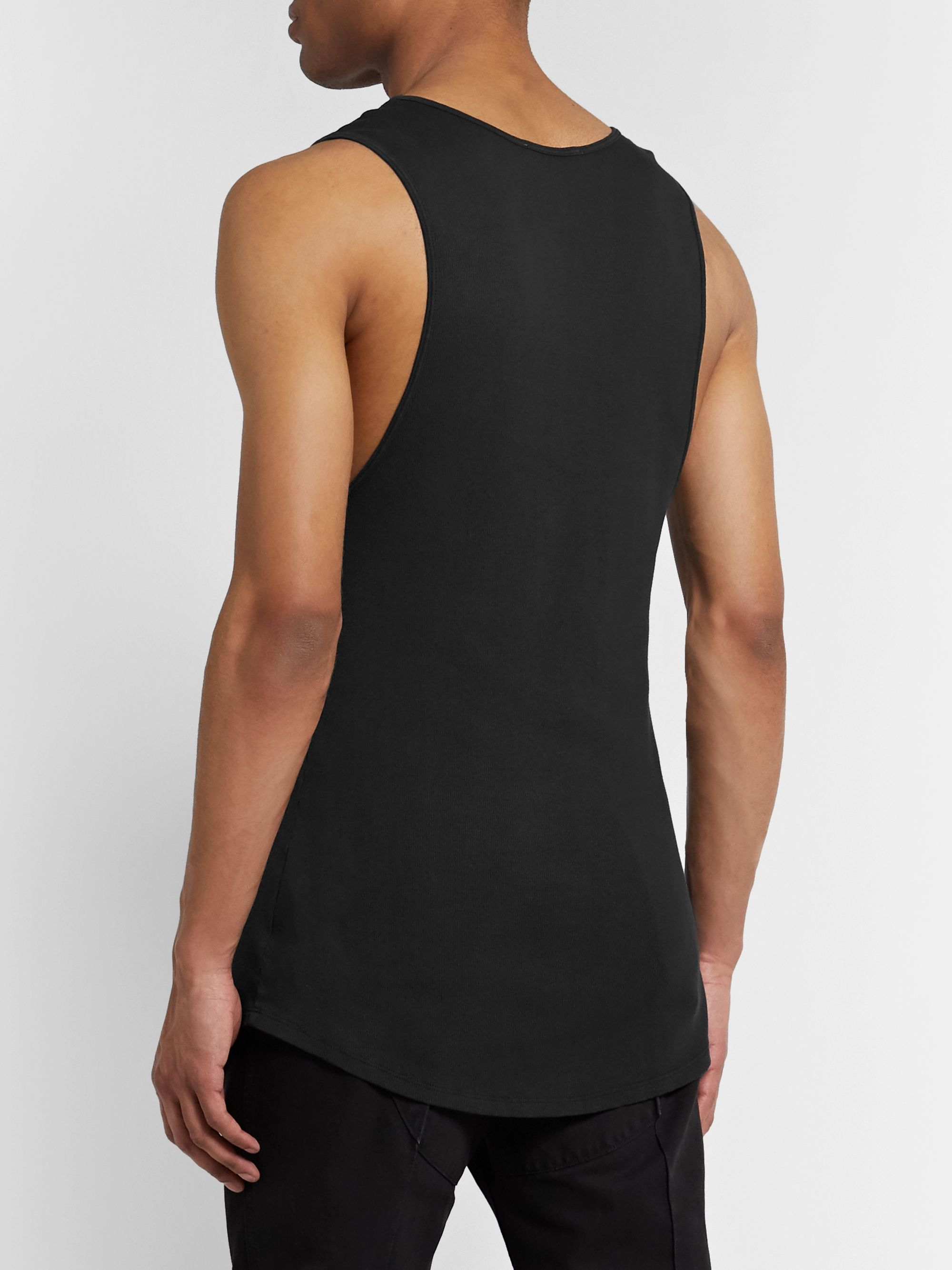 BILLY Colton Ribbed Cotton Tank Top