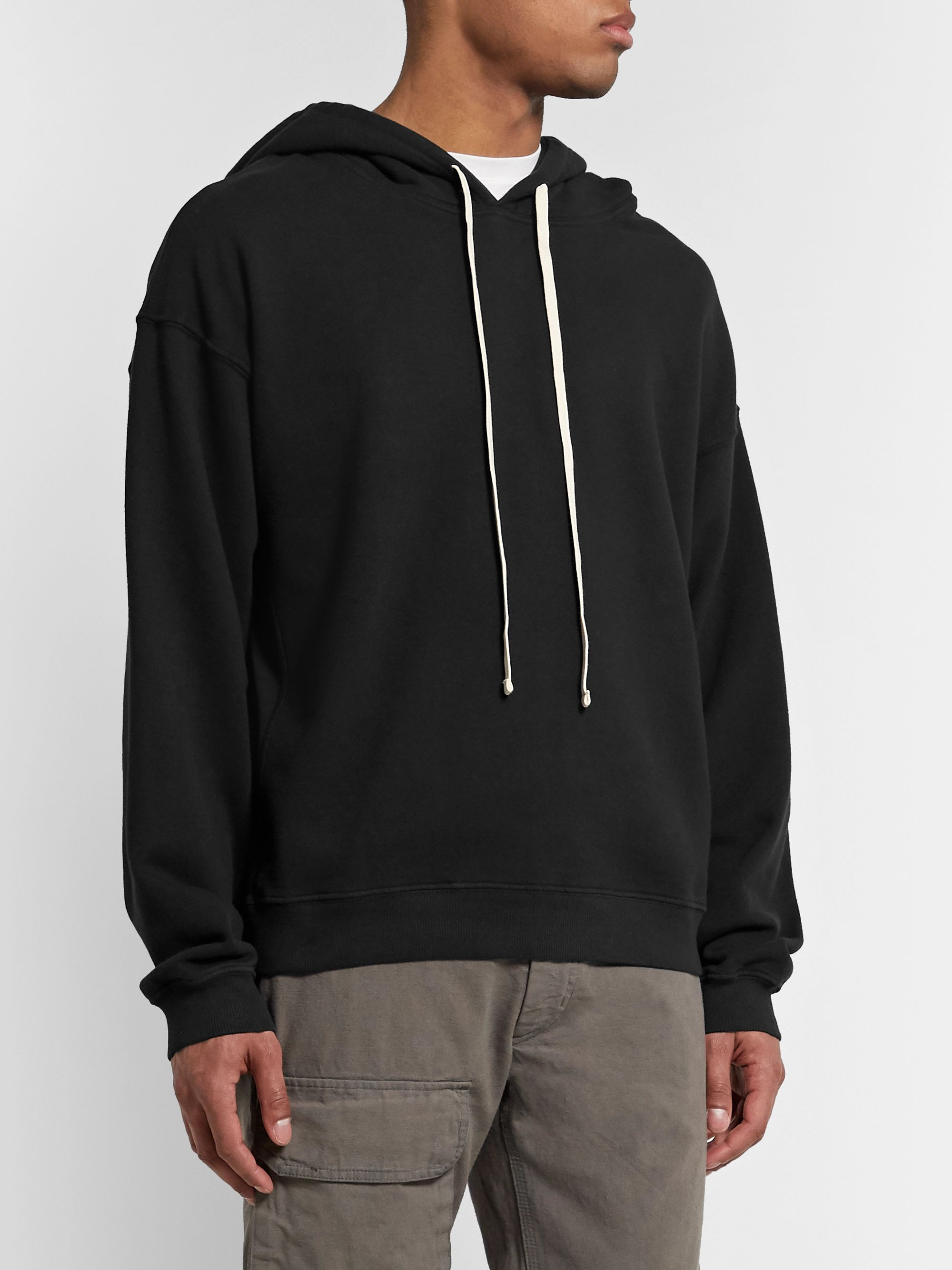 BILLY Cloud Garment-Dyed Loopback Cotton-Jersey Hoodie